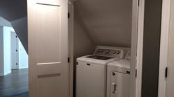 Laundry Closet at Entranceway