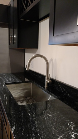 Granite Countertop & Zuhne Sink