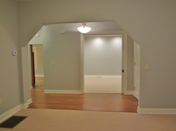 Looking into Office from Living Room