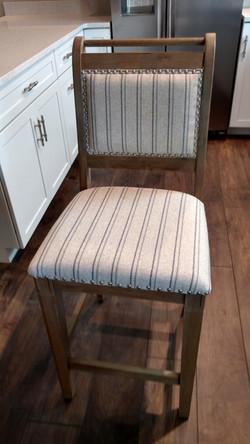 Bar stools provided by Landlord