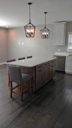 Kitchen Living Room Area