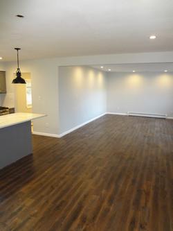 Open-Concept Kitchen/Living Room