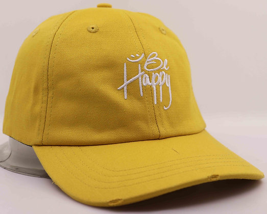 Be Happy / WSJEO Hat - Pineapple