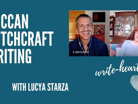 Interview: Wiccan Witchcraft Writing with Lucya Starza
