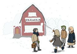 FOLKSKOLA, UTVANDRING