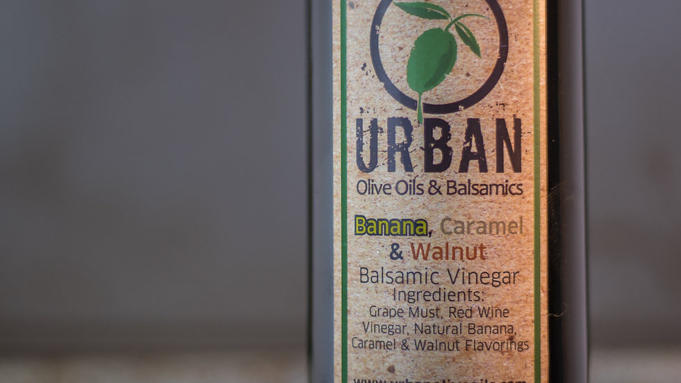 Banana, Caramel & Walnut Balsamic Vinegar