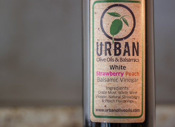 White Strawberry Peach Balsamic Vinegar