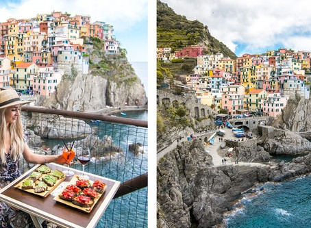 THE BEST LUNCH & VIEW IN CINQUE TERRE – New review from Alien & Chris Blog