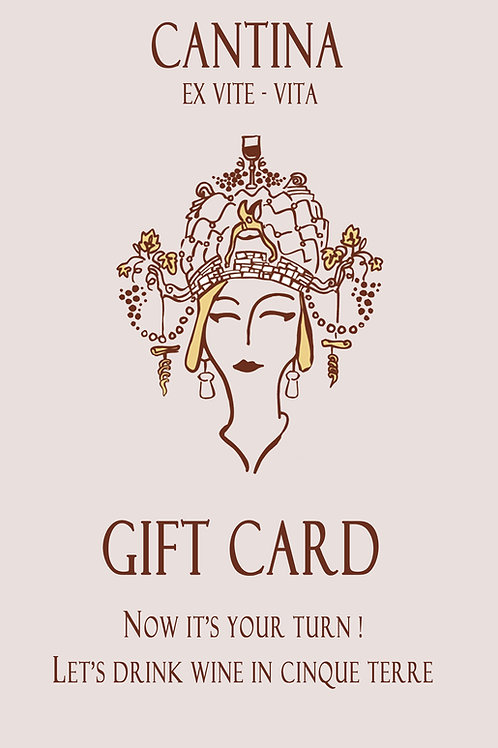 Gift Card for 2 - Wine Route and Tasting Experience
