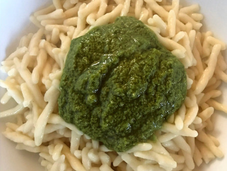 TROFIE AL PESTO: get the ingredients and cook with me!