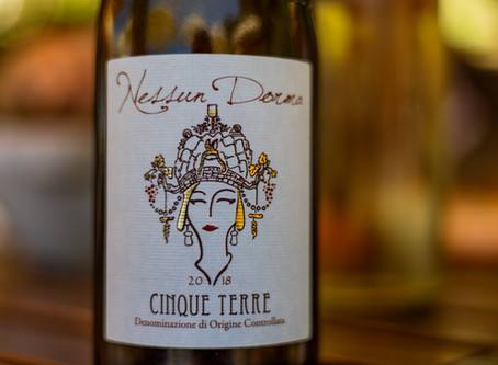 The Cinque Terre DOC wine              Nessun Dorma Limited Edition
