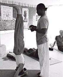 Atelier de yoga, approfondissement en yoga, asana, posture : posture : sirshasana, Anatomie pour le yoga, AnatomYoga, Blandine Calais Germain