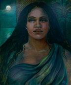 Hina 25x30 canvas