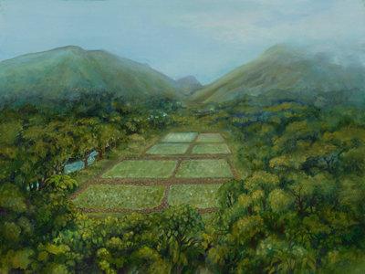 Loi' Kalo 32 x 24 canvas