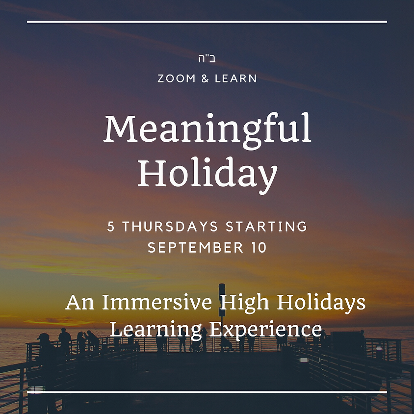Meaningful Holiday