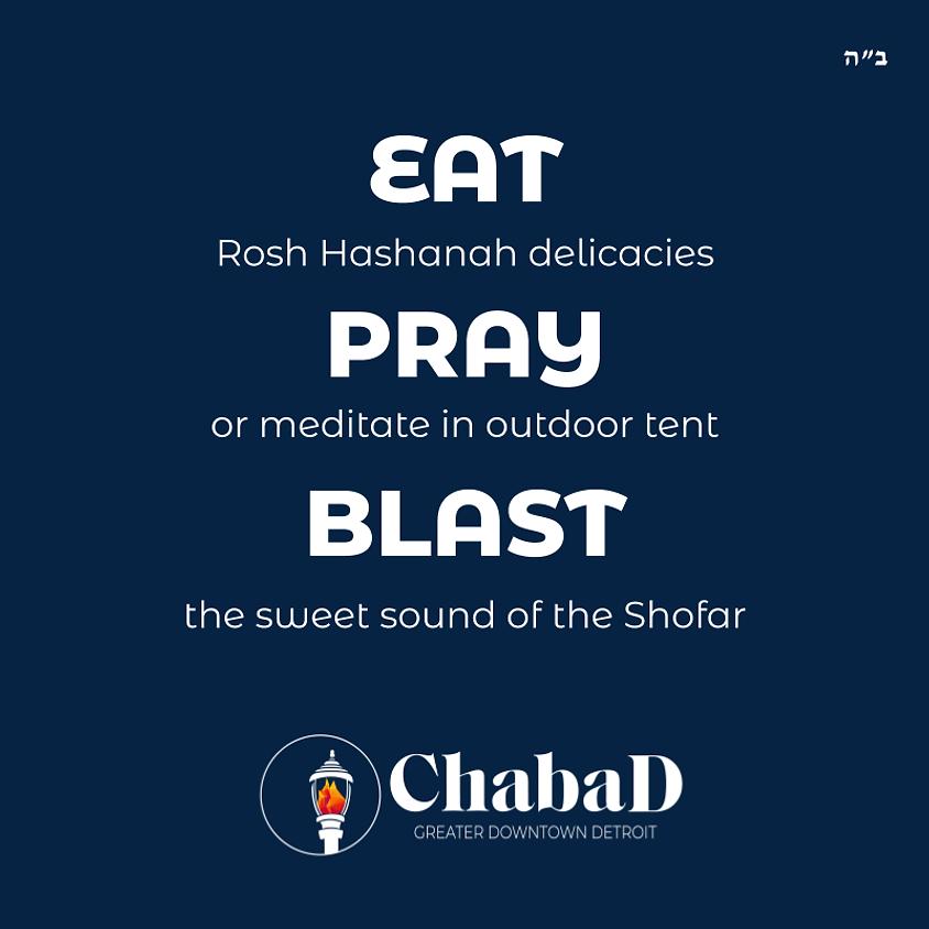 Eat Pray Blast - A Lunchtime Rosh HaShanah Program