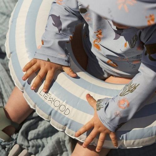Bouée Enfant Baloo Rayée - Bleu ciel  - Liewood