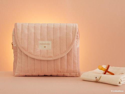 Nobodinoz - Savanna velvet Maternity Case bloom pink
