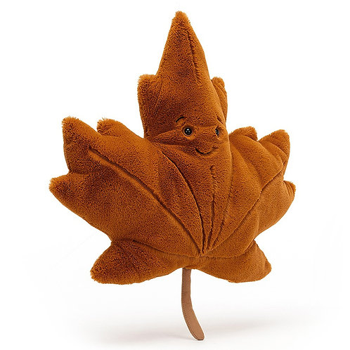 Jellycat - Wood la demande Maple Leaf - Hugo