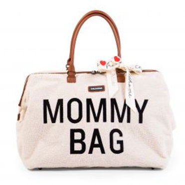Childhome - Mommy Bag Teddy Blanc