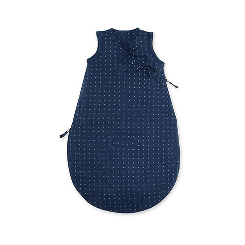 MAGIC BAG® 0-3m motif géométrique bleu jersey tog 0.5