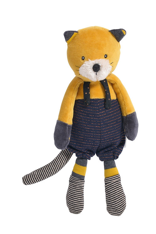 Moulin Roty - Lulu chat moutarde