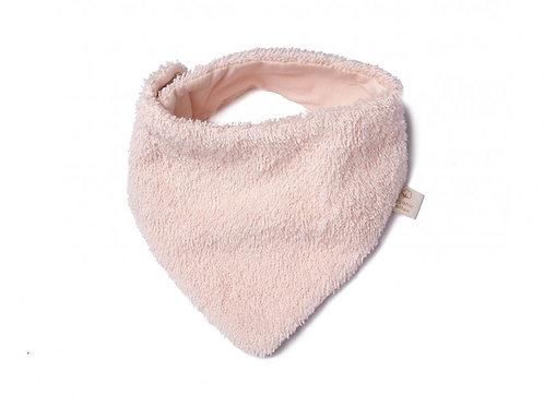 Nobodinoz -Bavoir bandana nouveau-né So Cute pink
