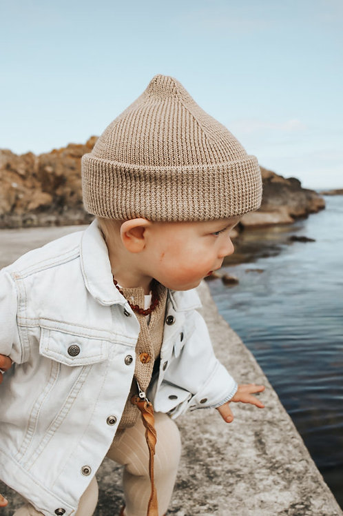 Little Savage - Bonnet en laine / Liste Canaris