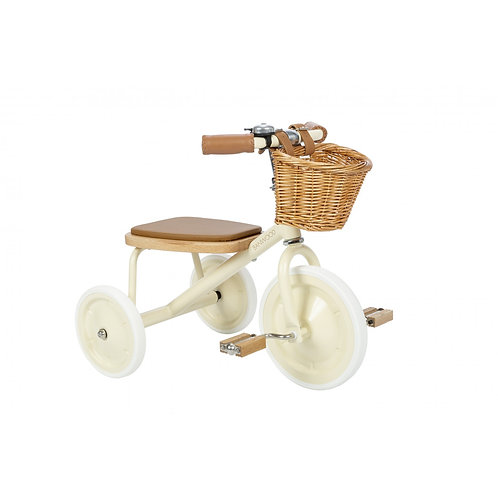 Trike Banwood - Crème