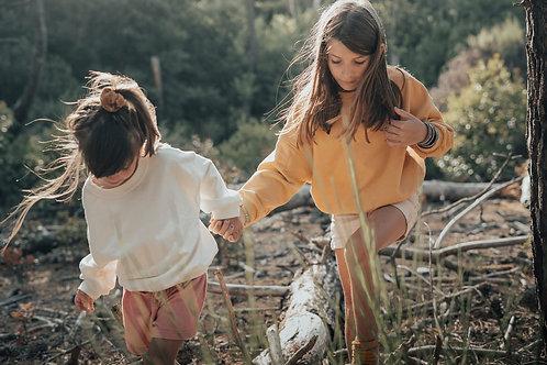 """Sweat """"Lulu """" / Moutarde  /  Une Family / Arrive Aujourd'hui"""