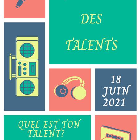 Journée des talents 2021 !