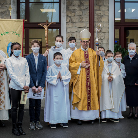 Photos de la Consécration de la Chapelle