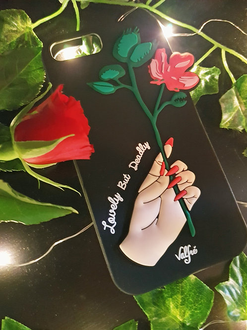'Lovely But Deadly' iPhone Cover