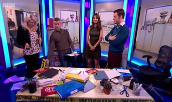 The One Show; Forensics