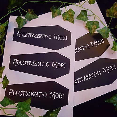 Allotment-o Mori Sticker