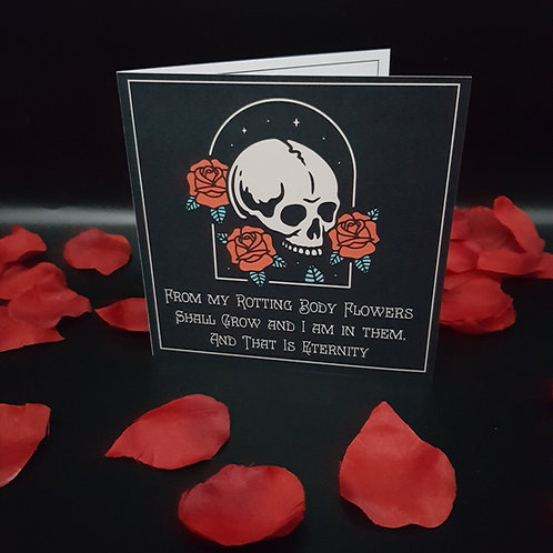 Greeting Card - Rot