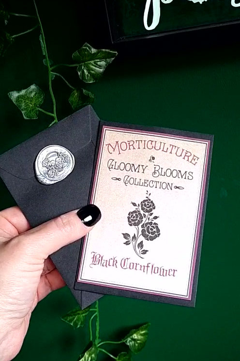 'Gloomy Blooms' seed collection