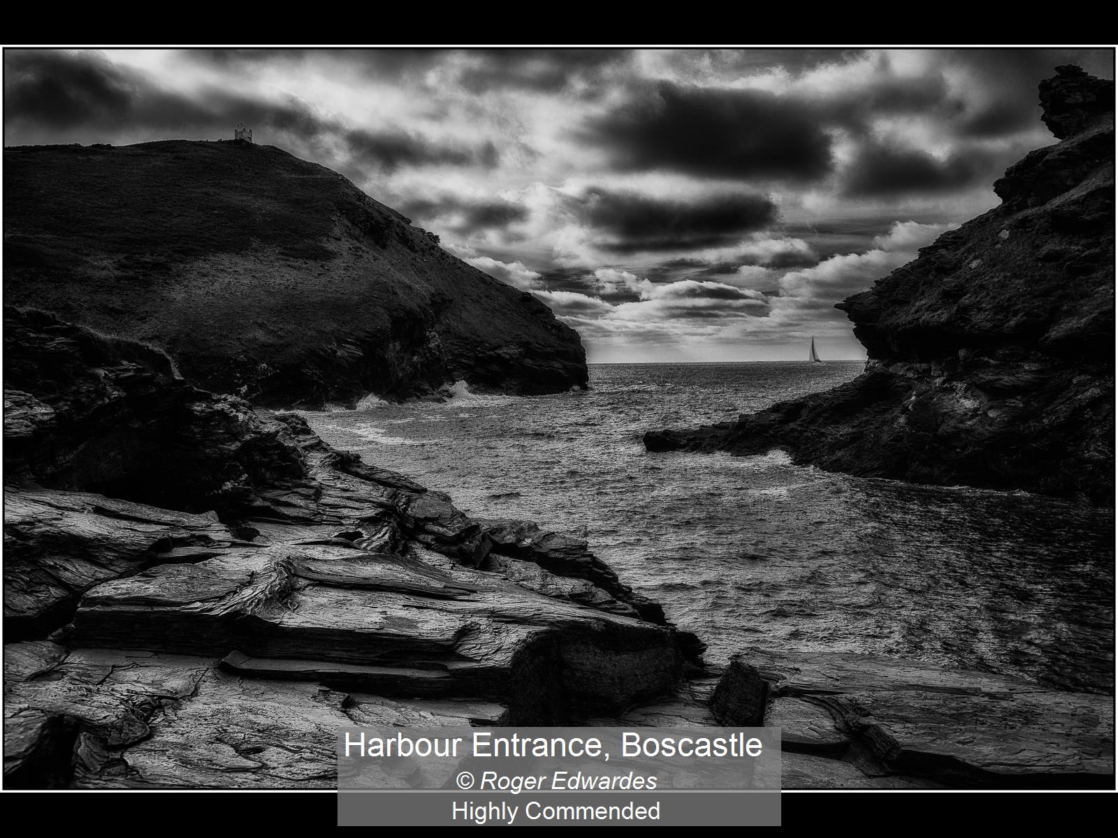 Harbour Entrance, Boscastle_Roger Edward