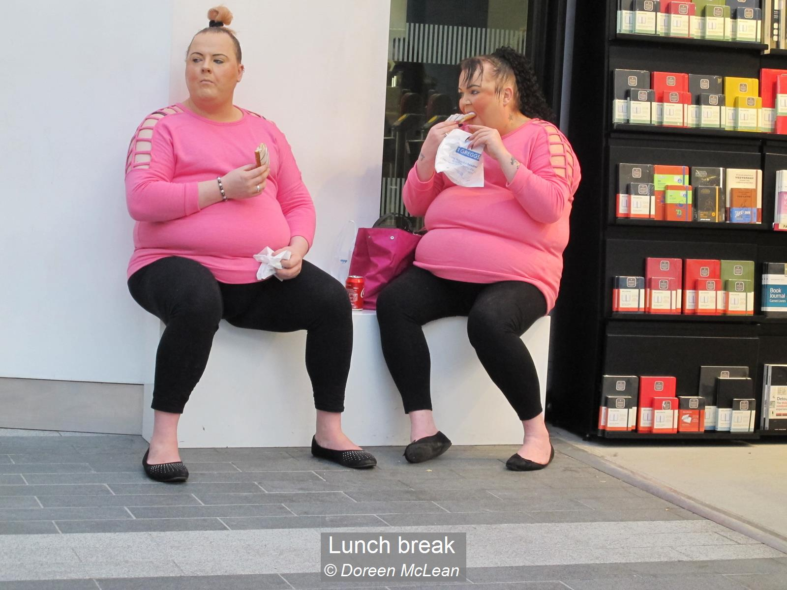 Doreen McLean_Lunch break_None