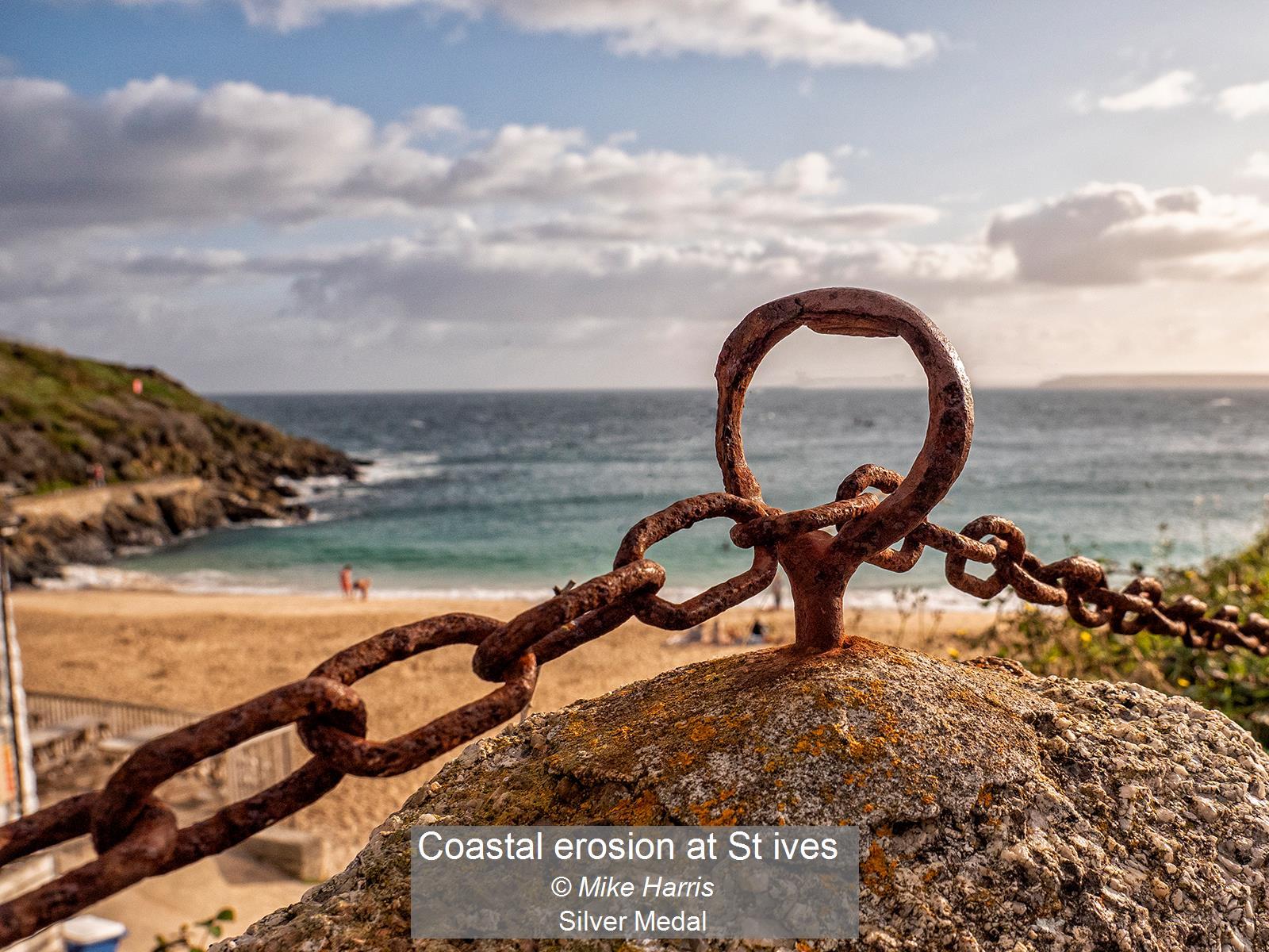 Coastal erosion at St ives_Mike Harris_S