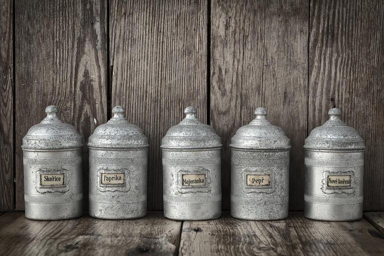 Mike Harris_Spice jars