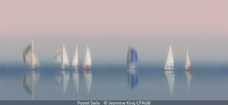 First_Jeannine King_Pastel Sails