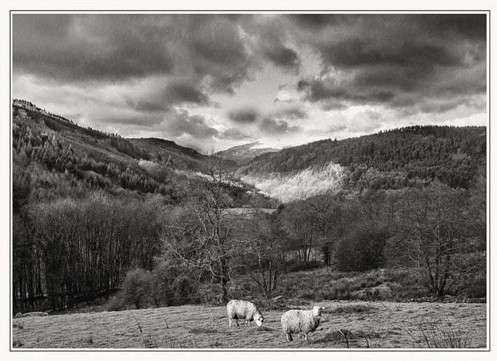 John Gronow_Looking Away from Snowdonia