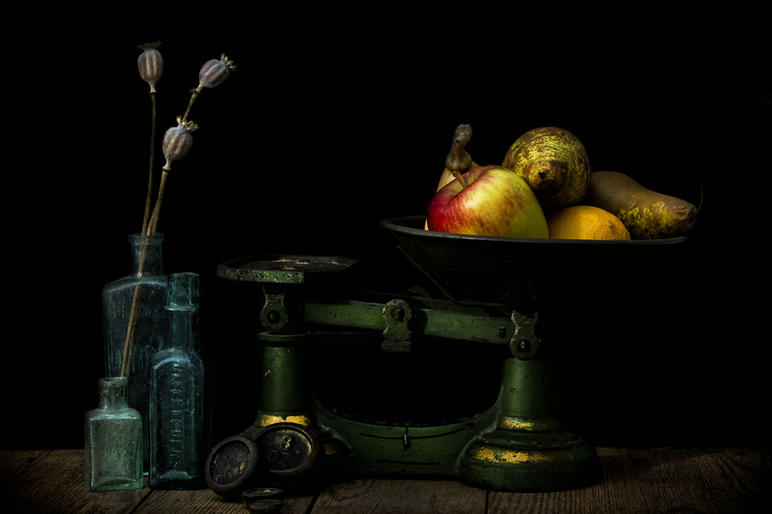 Mike Harris_The Old Kitchen Scales