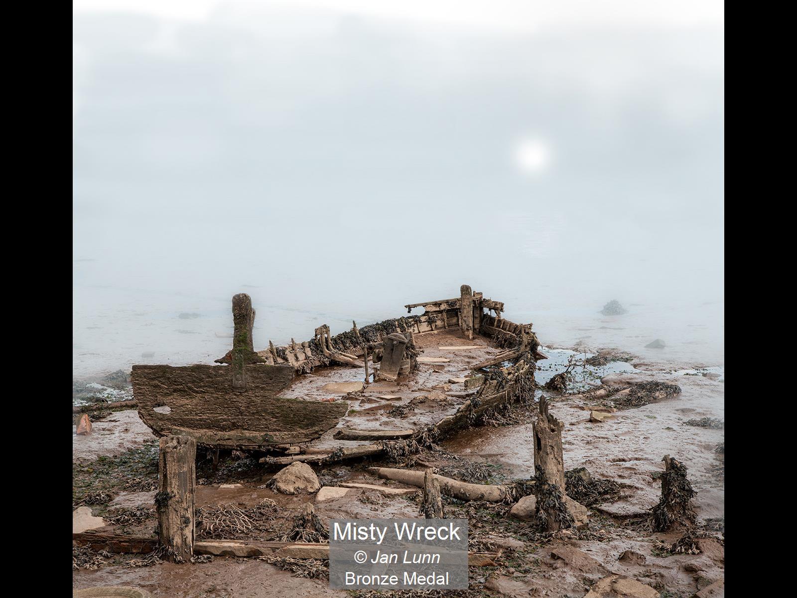 Misty Wreck_Jan Lunn_Bronze