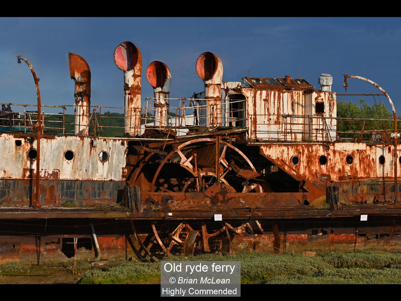 Old ryde ferry_Brian McLean_HComm