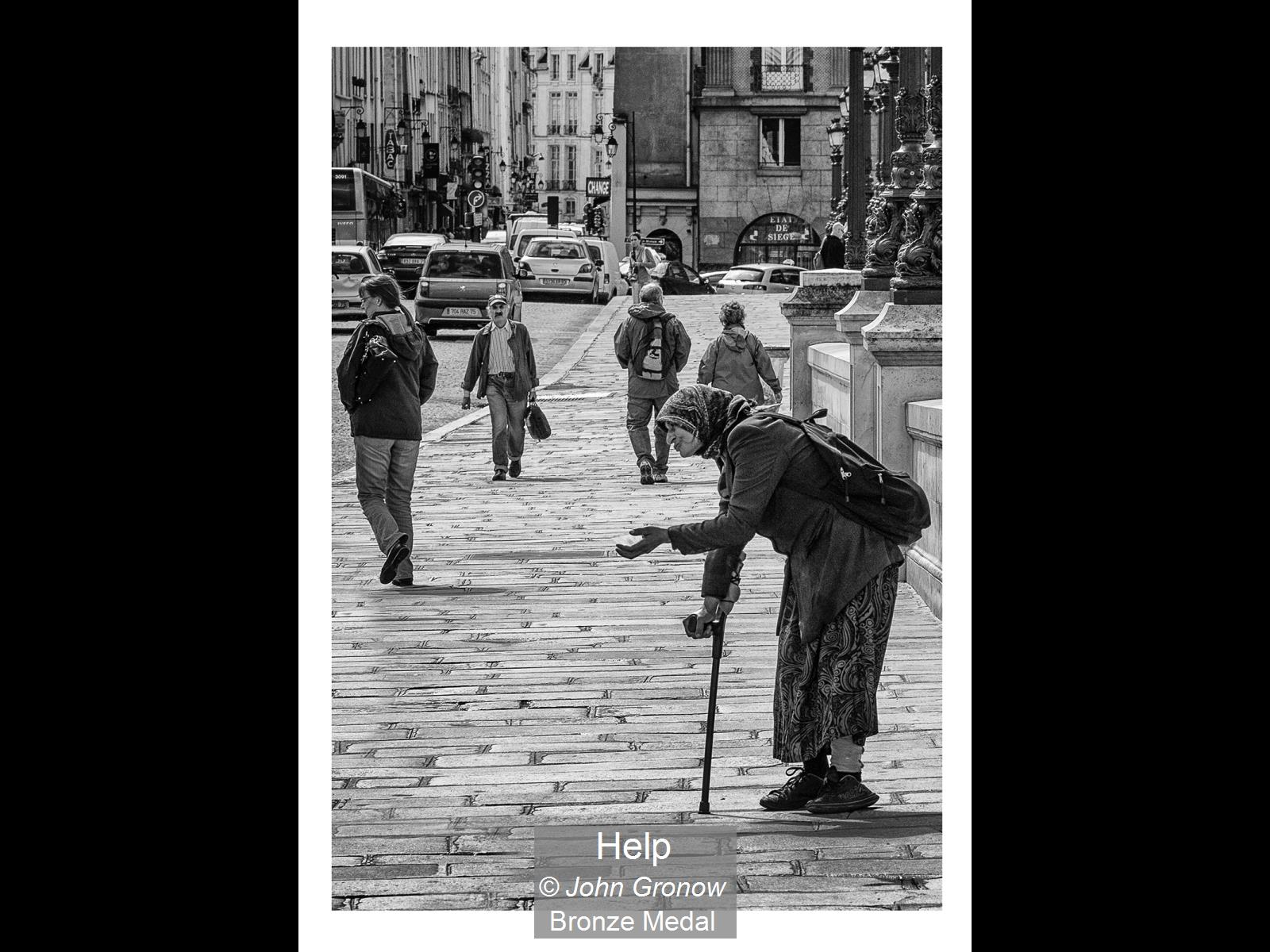 John Gronow_Help_Bronze