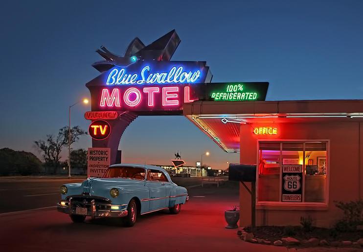 Pam Sherren_Blue Swallow Motel