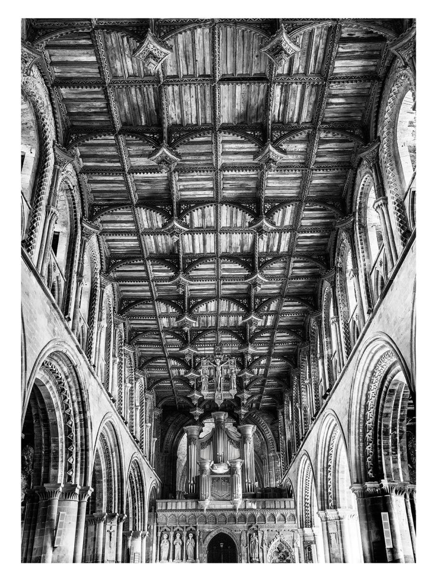 John Gronow_St Davids Cathedral_HC