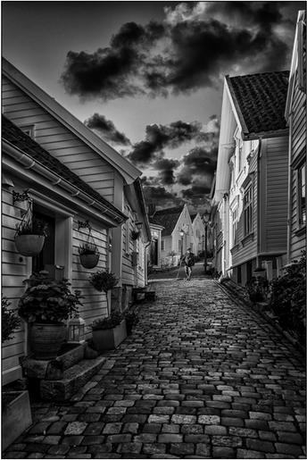 Roger Edwardes_Side Street, Old Quarter, Stavanger